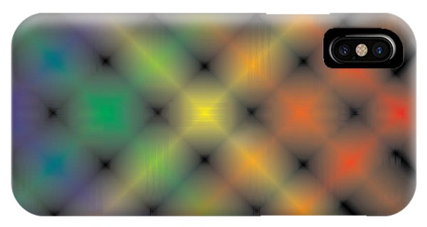 Spectral Shimmer Weave IPhone Case