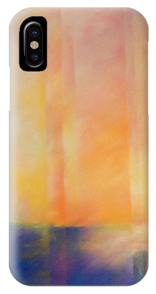 Spectral Sunset IPhone Case