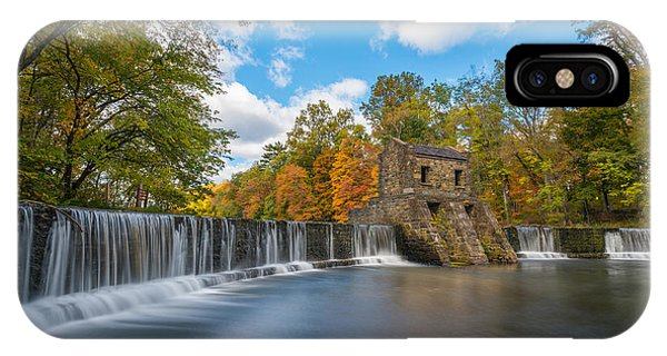 Speedwell Dam Fall Foliage IPhone Case