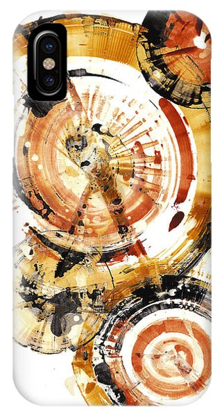 IPhone Case featuring the painting Sphere Series 1020.050112 by Kris Haas