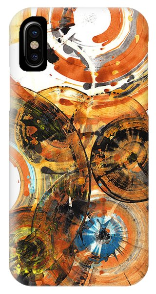 IPhone Case featuring the painting Sphere Series 1024.050312 by Kris Haas
