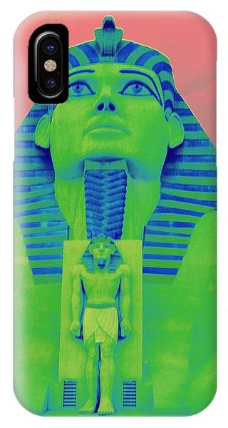 Sphinx At Luxor - 2 IPhone Case