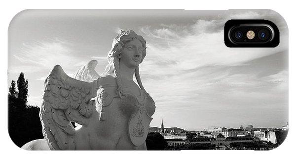 Wings iPhone Case - Sphinx- By Linda Woods by Linda Woods
