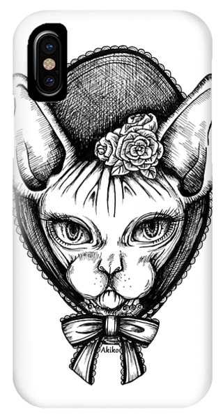 Sphynx Lady IPhone Case