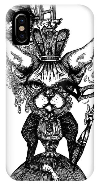 Sphynx Queen IPhone Case