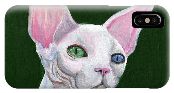 Sphynx2 IPhone Case