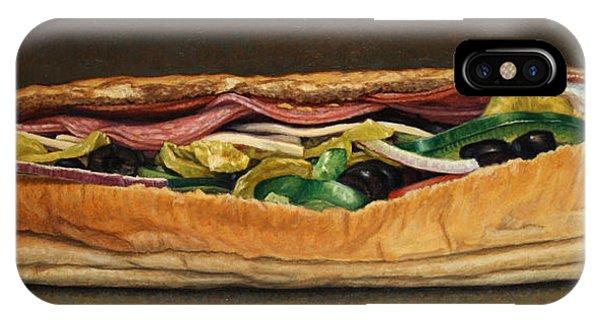 Spicy Italian IPhone Case