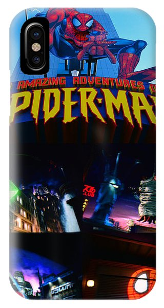 iPhone Case - Spider Man Ride Poster A by David Lee Thompson