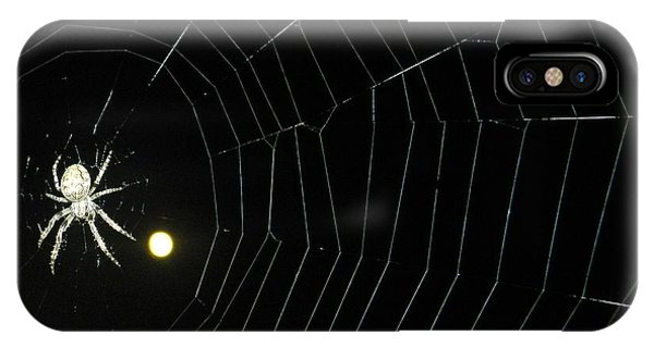 Spider Moon IPhone Case