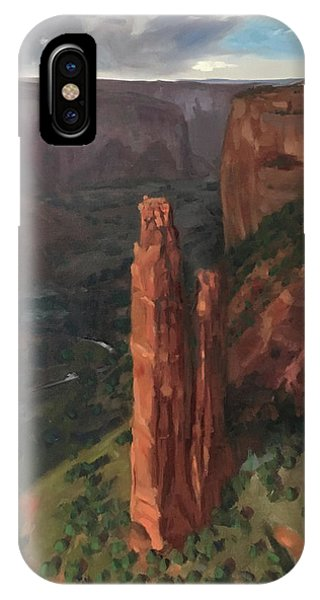 Spider Rock, Canyon De Chelly IPhone Case