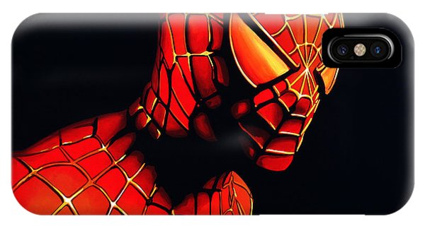 Ben iPhone Case - Spiderman by Paul Meijering