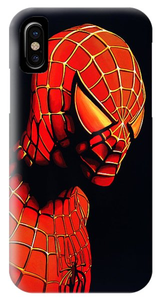 Men iPhone Case - Spiderman by Paul Meijering