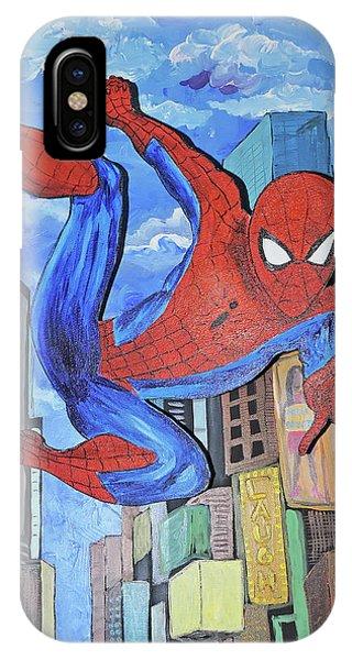 Spiderman Swings IPhone Case