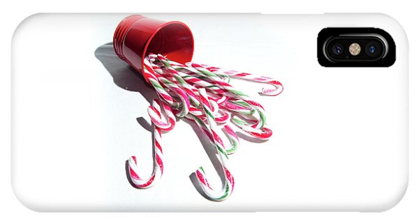 Spilled Candy Canes IPhone Case