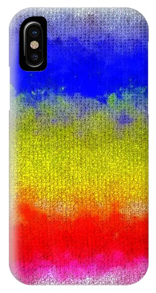 Spilled Paint 1 IPhone Case
