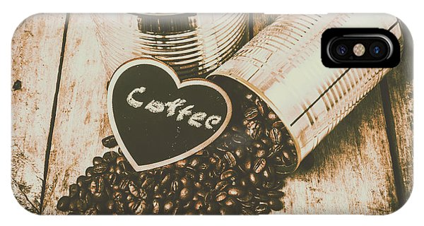 Cafe iPhone Case - Spilling The Beans by Jorgo Photography - Wall Art Gallery