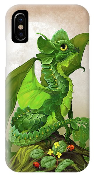 Spinach Dragon IPhone Case