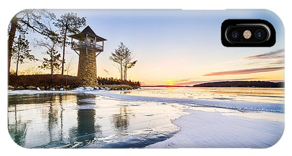 Spindle Point Sunrise IPhone Case