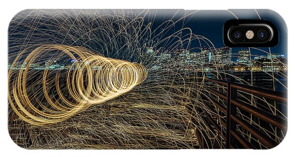 Spinning Sparks IPhone Case