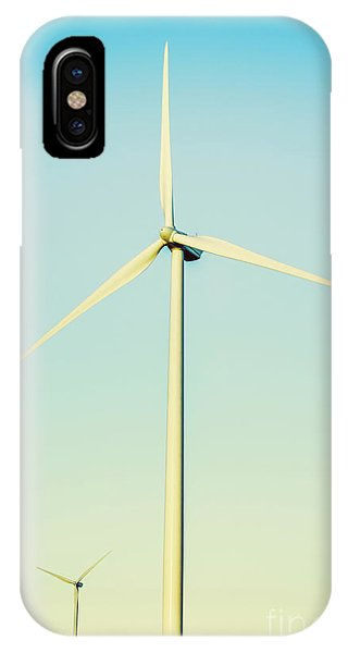 Windmill iPhone Case - Spinning Sustainability by Jorgo Photography - Wall Art Gallery