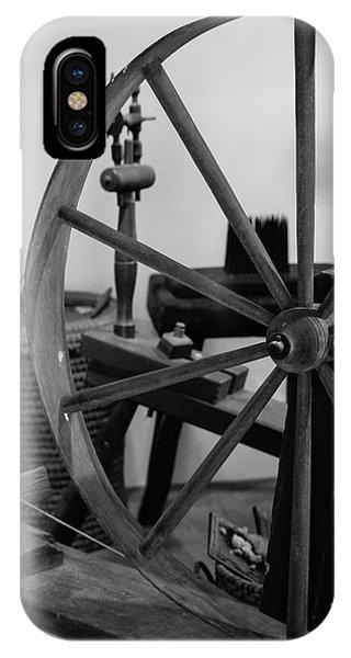 Spinning Wheel At Mount Vernon IPhone Case