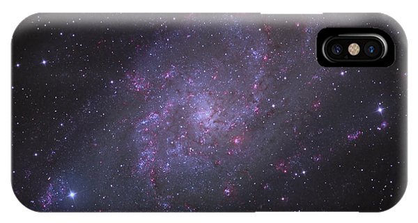 Spiral Galaxy M 33 Phone Case by Brian Peterson