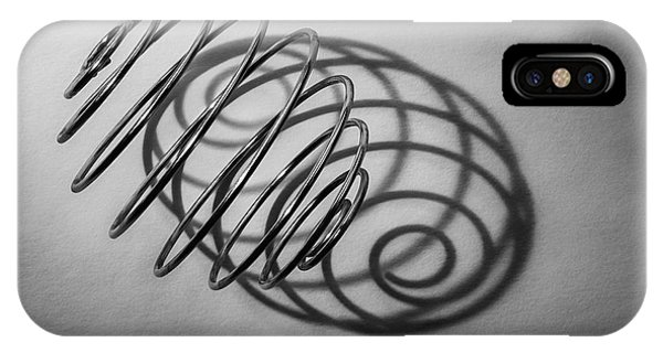 Chrome iPhone Case - Spiral Shape And Form by Scott Norris