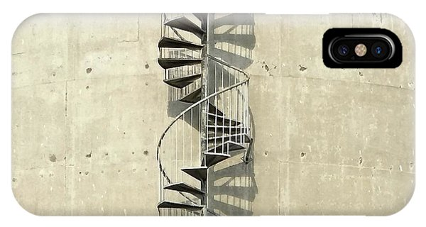 iPhone Case - Spiral Staircase by Julie Gebhardt