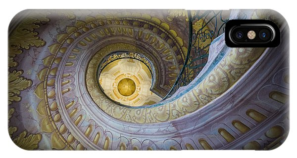 Spiral Staircase Melk Abbey I IPhone Case