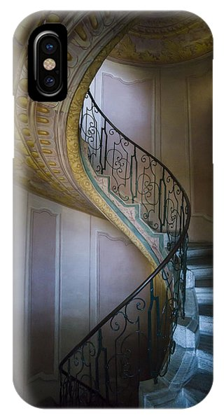 Spiral Staircase Melk Abbey II IPhone Case