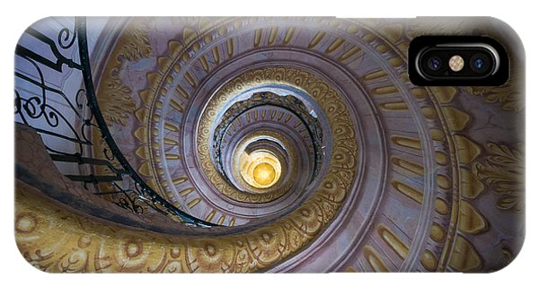 Spiral Staircase Melk Abbey IIi IPhone Case