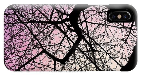 Spiral Tree IPhone Case