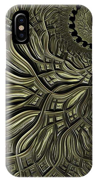 iPhone Case - Spiral Weave by Amanda Moore