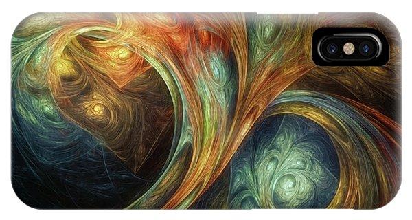 Fractal iPhone Case - Spiralem Ramus by Scott Norris