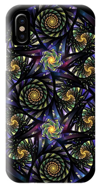 Spirals Of The Night IPhone Case