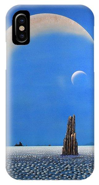 Spires Of Triton IPhone Case