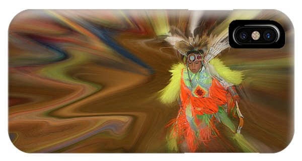 IPhone Case featuring the photograph Spirit Dance by Wayne King