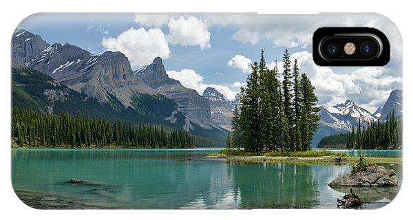 Spirit Island And The Hall Of The Gods IPhone Case