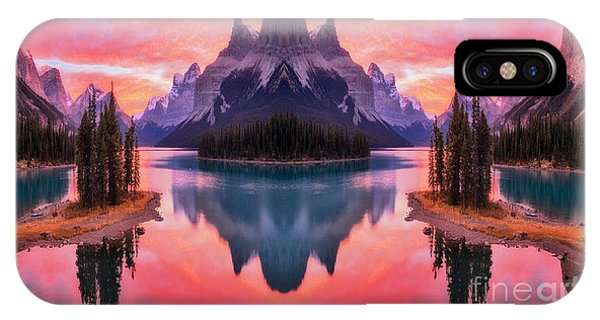 Spirit Island Reflections IPhone Case