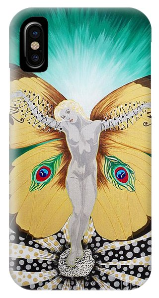 Blaa Kattproduksjoner             Spirit Of Aurelias Flight IPhone Case