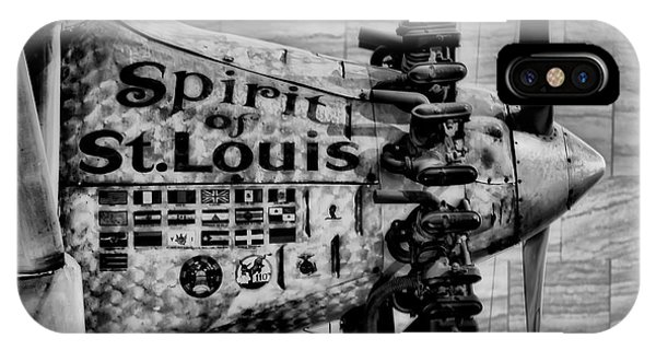 Smithsonian iPhone Case - Spirit Of St Louis by Mountain Dreams