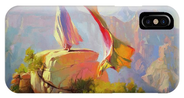 Canyon iPhone Case - Spirit Of The Canyon by Steve Henderson