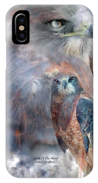 Spirit Of The Hawk IPhone Case