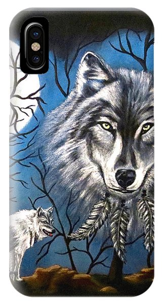 Spirit Wolf IPhone Case