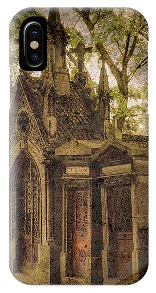 Paris, France - Spirits - Pere-lachaise IPhone Case