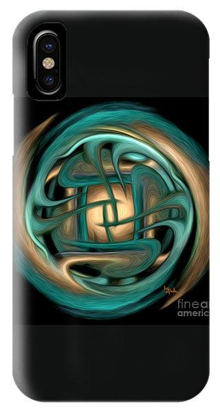 Spiritual Art - Healing Labyrinth By Rgiada IPhone Case