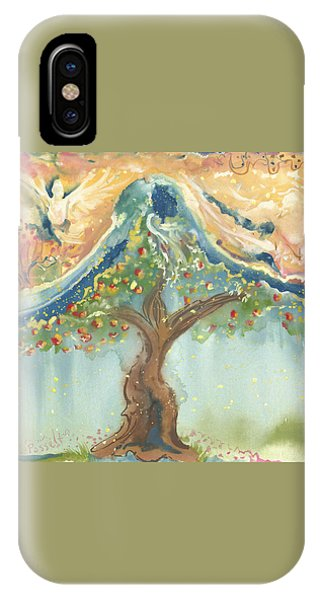 Spiritual Embrace IPhone Case