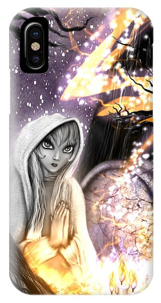 Spiritual Ghost Fantasy Art IPhone Case