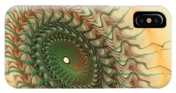 Fractals iPhone Case - Spiritual Journey by Deborah Benoit