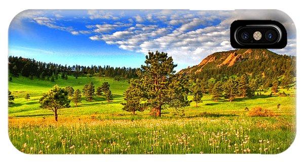 Rocky Mountain iPhone Case - Spiritual Sky by Scott Mahon